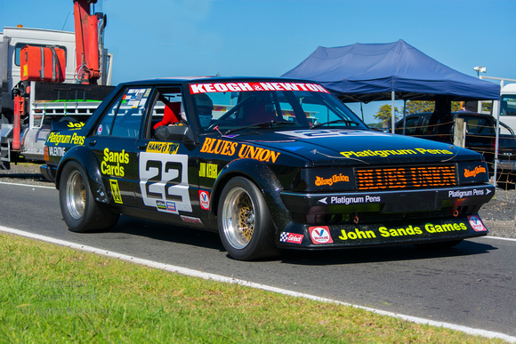 Blues Union Group C Ford XD Falcon at 2017 Phillip Island Classic Festival of Motorsport.
