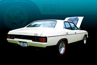 White XB Falcon GT