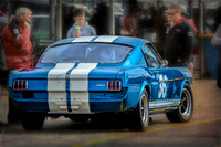 Blue Shelby GT350