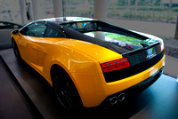 Lamborghini Gallardo - LP560-4 Bicolore Rear View