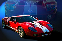 Red GT40