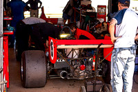 Formula 5000 in the pits